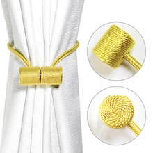 Rope Curtain-Decoration Room-Accessories Buckle Cylinder Hanging-Ball Magnetic 1pc Strap