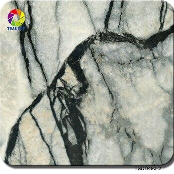 TSDD493-2 wtp film 1m * 10m rozmiar marmurowy wzór z kamieniem hydrograficzna folia z nadrukiem do transferu wodnego