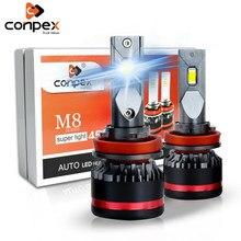 2pcs Conpex h7 led headlight bulbs h4 led canbus h1 h11 h3 h8 h16 9005 9006 led lamp h13 hb3 hb4 car bulb d2s d4s auto lights