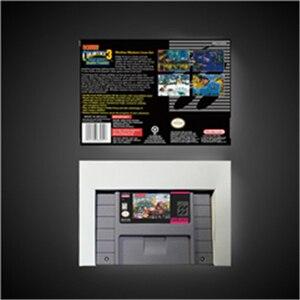 Image 2 - Donkey Kong Country 3 ¡problemas dobles de Dixie Kong!  Tarjeta de juego batería RPG guardar versión US caja de venta al por menor