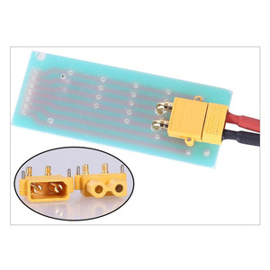 Image 4 - 100 x AMASS XT30PW Banana golden XT30 Upgrade Right Angle Plug Connector male female ESC Motor PCB board plug connect (50 Pair )