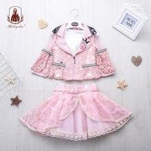 Yoliyolei 3 шт/компл Детские повседневные платья для девочек