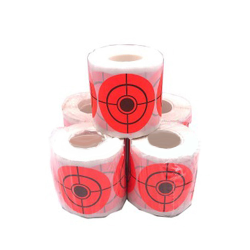 250pcs 5CM Diameter Firing Practice Target Self-adhesive Paper Sticker Durable Range Shooting Parts