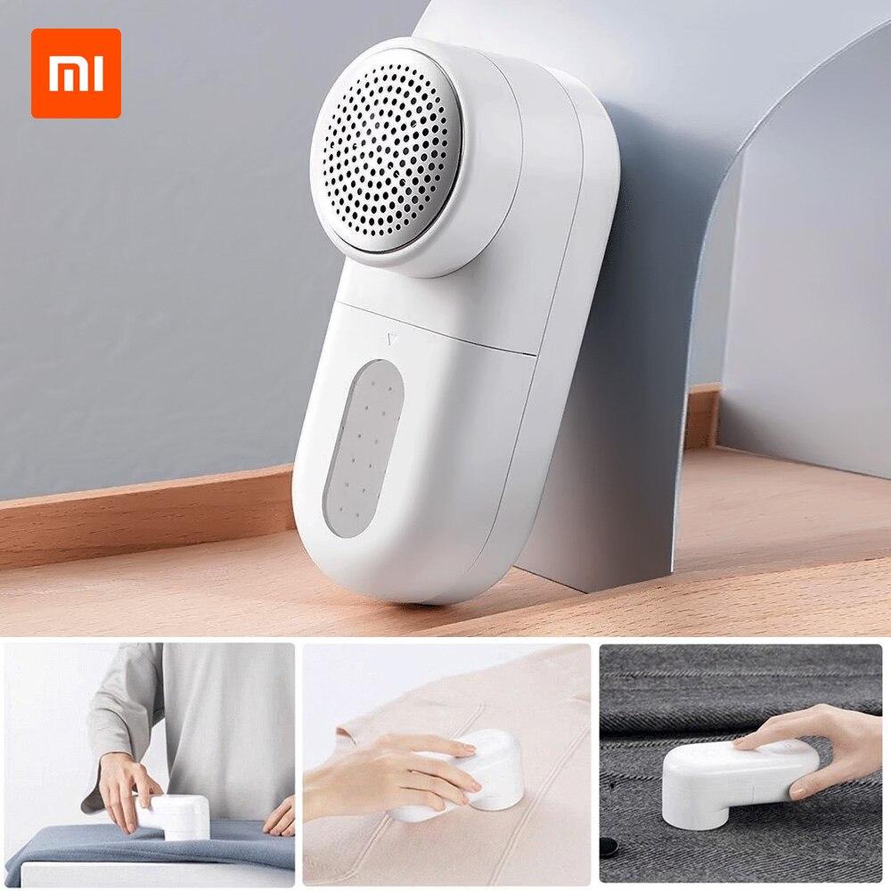 Xiaomi mijia removedor de fiapos elétrico portátil bola cabelo aparador de limpeza eficiente fuzz remoção máquina para roupas Removedores de fiapos    -