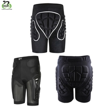 WOSAWE Outdoor Sports Skiing Skating Snowboarding Shorts Hip Protective 3D Padded Breathable Lightweight Gear