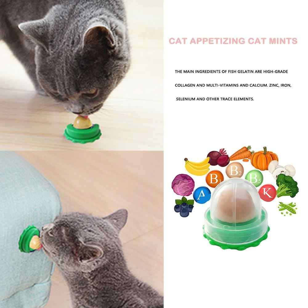 고양이 Catnip 설탕 고양이 간식 핥는 사탕 영양 에너지 공 장난감 고양이 새끼 고양이 재생 건강한 애완 동물 고양이 용품 Dropshipping
