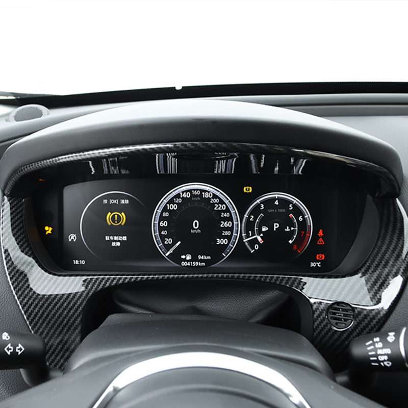 Car Dashboard Sticker Centre Panel Modification Accessories For Jaguar F-PACE XE XF XEL XFL Interior Decoration Car Styling