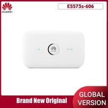 Desbloqueado huawei e5573 E5573s-606 cat4 150m 4g wifi roteador sem fio móvel wi fi hotspot banda 1/3/7/28/40 pk e8372h-607
