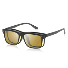 Natuwe&Co 2 - in - 1 System - Classic Base Frame with Clip On Polarized Sunglasses