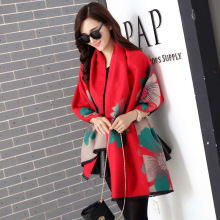 and Winter New Jacquard Thickening Warming Korean Fashion Cashmere Shawl Wholesale Female Students Hundred Scarves