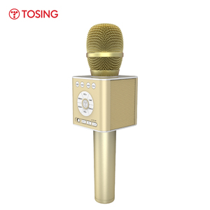 Image 4 - TOSING Q12 2020 חדש נייד קריוקי מיקרופון אלחוטי Bluetooth רמקול כף יד מוסיקה נגן KTV נסיעות SupportUSB כרטיס לשחק
