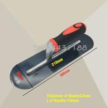 305*90 мм с круглой головкой Пластик ручка шпатель штукатурный строительство составляющие бетона шпатель инструмент, Толщина 0,8 мм