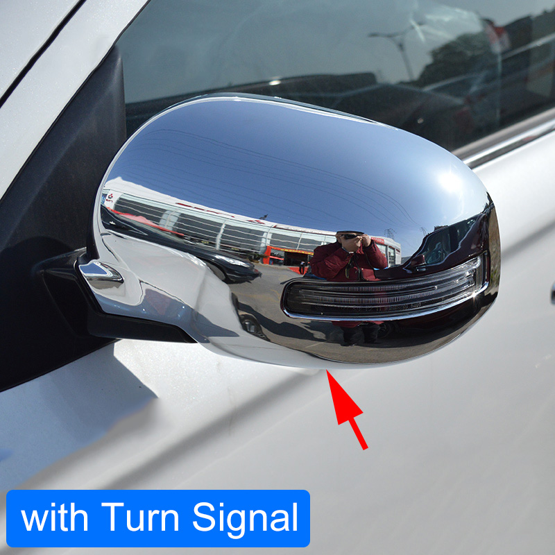 Side Mirror Cover For Mitsubishi Outlander 2013 2014 2015 2016 2017 2018 2019 With Turn Light