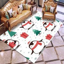 Коврик с 3d принтом пингвина коврик для игровой площадки в подарок