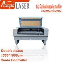 цена на 80W 100w 130w 150w 1310 Laser Engraver Ruida 6442S Laser Engraving Cutting Machine woodworking wood plywood acrylic leather