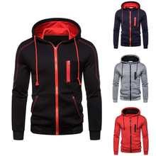 Sudadera deportiva con cordón para hombre, conjunto deportivo informal con chaqueta y pantalones de invierno, ropa deportiva