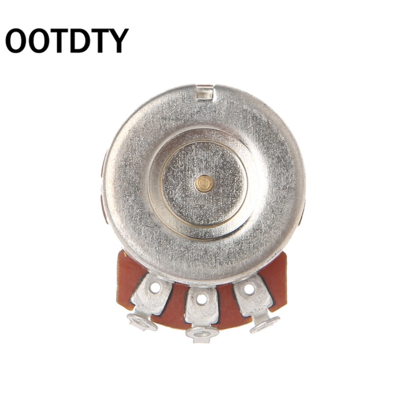 OOTDTY B250K Potentiometer Splined Pot Electric Guitar Bass Effect Amp Tone Volume Parts Suit For Guitar