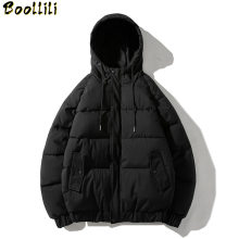 New Design Quality Winter Jacket Men Hooded Thick Duck Down Parkas Casual Drawstring Coat Slim Pockets Overcoat Luxury Clothes(China)
