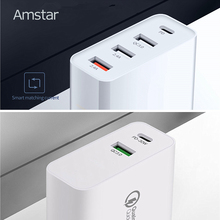 Amstar 48W USB C PD Charger Quick Charge QC4.0 3.0 Fast Charging AdapterสำหรับiPhone 11 XS XR X 10 9 Huawei Xiaomi