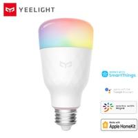 Original Yeelight bombilla LED inteligente 1S de luz de colores de 800 lúmenes 10W E27 para Mijia App/de Apple Homekit/Asistente de Google/Smartthings