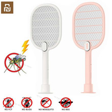 Youpin 3 Layers Mesh Electric Mosquito Swatter Electric Handheld Mosquito Killer Insect Fly Bug Mosquito Swatter Killer