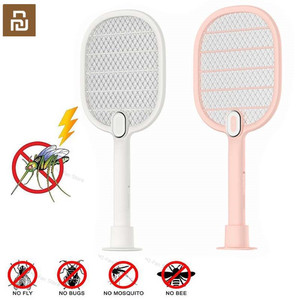 Image 1 - Youpin 3 Layers Mesh Electric Mosquito Swatter Electric Handheld Mosquito Killer Insect Fly Bug Mosquito Swatter Killer