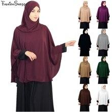 Scarf Hijab Jilbab Ramadan-Arab Islam Muslim Khimar Prayer Women Shawl Overhead Middle-East