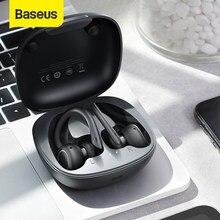 Baseus W17 Sport Bluetooth Kopfhörer TWS Wirless Kopfhörer Headsets Unterstützung Qi Drahtlose Aufladen Smart touch IP55 Wasserdicht