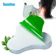 Sumifun – Patch médical chinois pour le soulagement de la douleur des vertèbres et cervicales, plâtre médical chinois, articulation du corps, absinthe, arthrite, tueur de douleur, 12 pièces