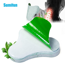 Sumifun 12Pcs Cervical Vertebra Pain Relief Patch Chinese Medical Plaster Joint Body Wormwood Arthritis Pain Removal Killer
