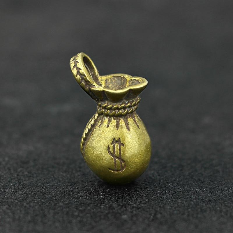 Lucky Money Bag Keychains Pendants (9)