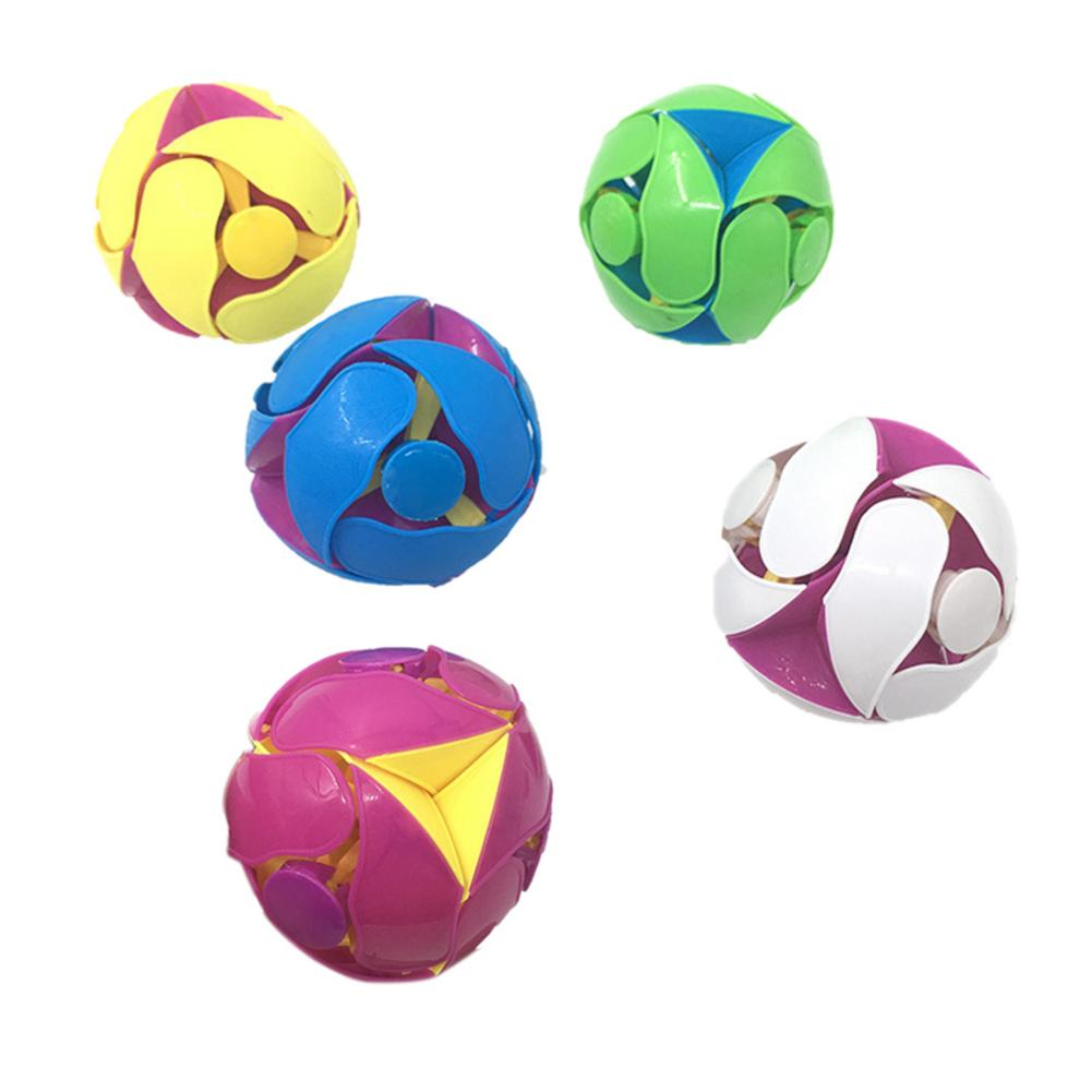 Magic Two-color Throw Ball Color Changing Decompression Puzzle Hand Throw Color Ball Innovative Toy