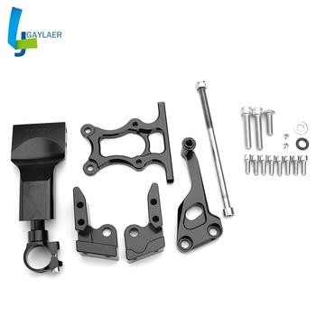 Motorcycles Adjustable Steering Damper Bracket Mount Support For Yamaha MT-07 2013-2017 Stabilize safety liner