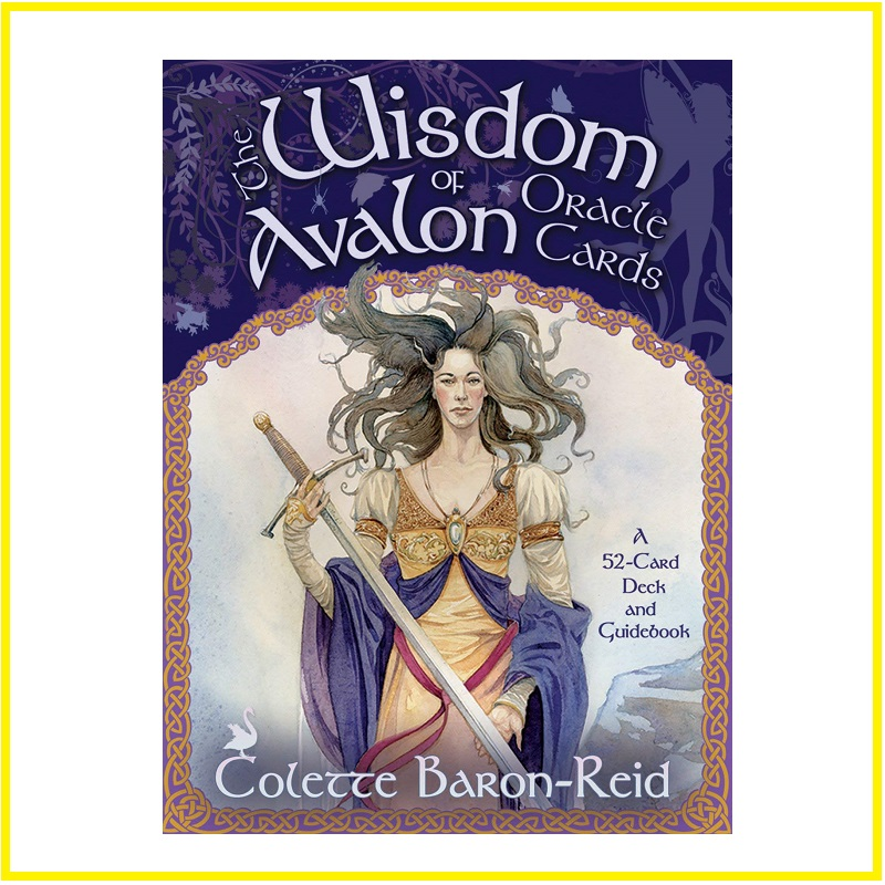 High Quality Paper Wisdom Avalon Oracle Cards TAROT Divine Prophecy Cards English Version