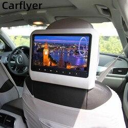 Carflyer 9 дюймов автомобильный монитор заднего сиденья Развлечения Системы DVD видео MP5 плеер Поддержка AV Дисплей поддержкой USB, SD карт памяти, fm-...