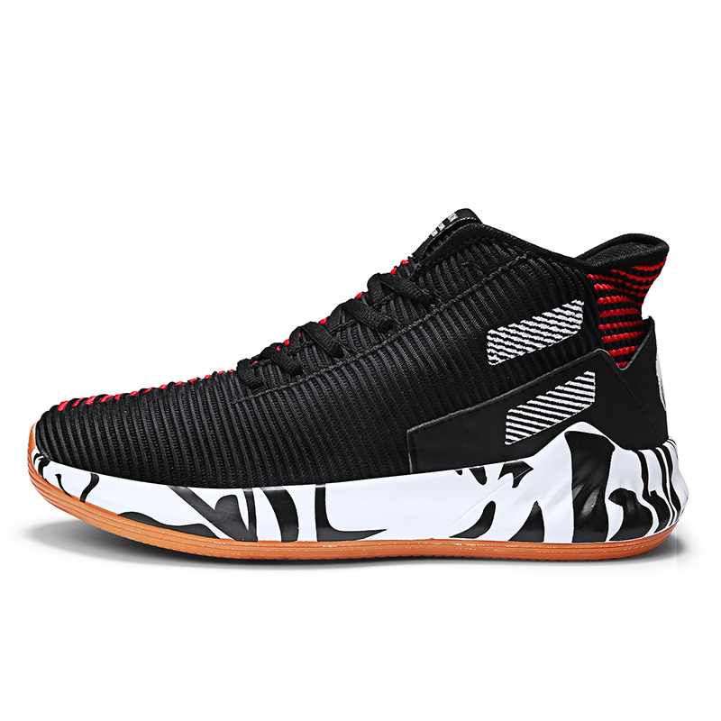 Hot Sale Basketball Shoes Lebron James High Top Gym Training Boots Ankle Boots Outdoor Men Sneakers Athletic Sport Shoes image