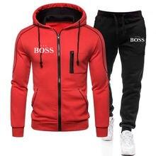 Männer mit kapuze jogginghose, warme und dicke sportbekleidung, mit zipper, XL 3xl, frühling und herbst