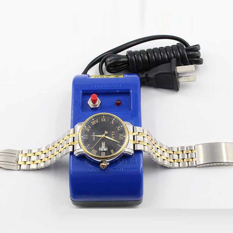 Professional Watch Repair Tool Demagnetizer Watch Repair Screwdriver Tweezers Electrical Demagnetise Tool Demagnetizer For Watch