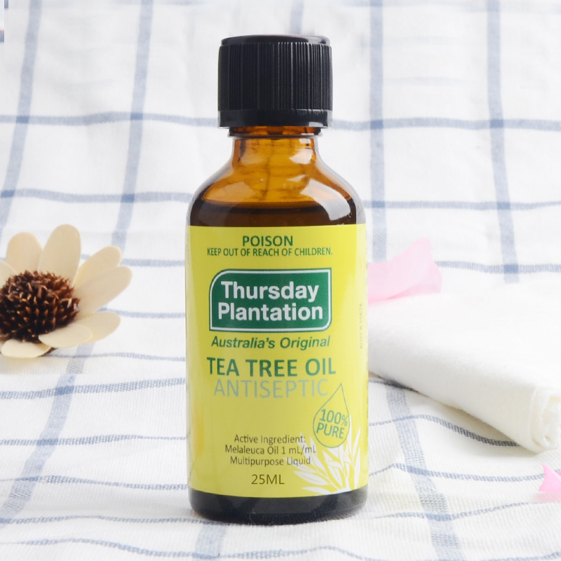 Original Thursday Plantation 100% Natural Tea Tree Oil 25ml Anti-wrinkle Extract Acne Removal Scars Treatment massage Oil
