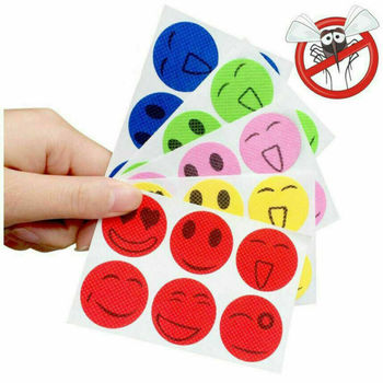 1pcs Mosquito Repellent Patch SmileFace Anti Mosquito Sticker Repeller Baby Family Mosquito Killer Trap Insect Pest Control image