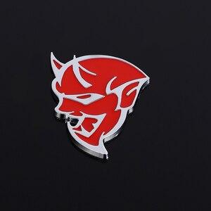 Эмблема-наклейка на автомобиль значок наклейки для Dodge Challenger SRT Demon SRT8 RC Hellcat зарядное устройство Калибр решетка авто аксессуары для укладки