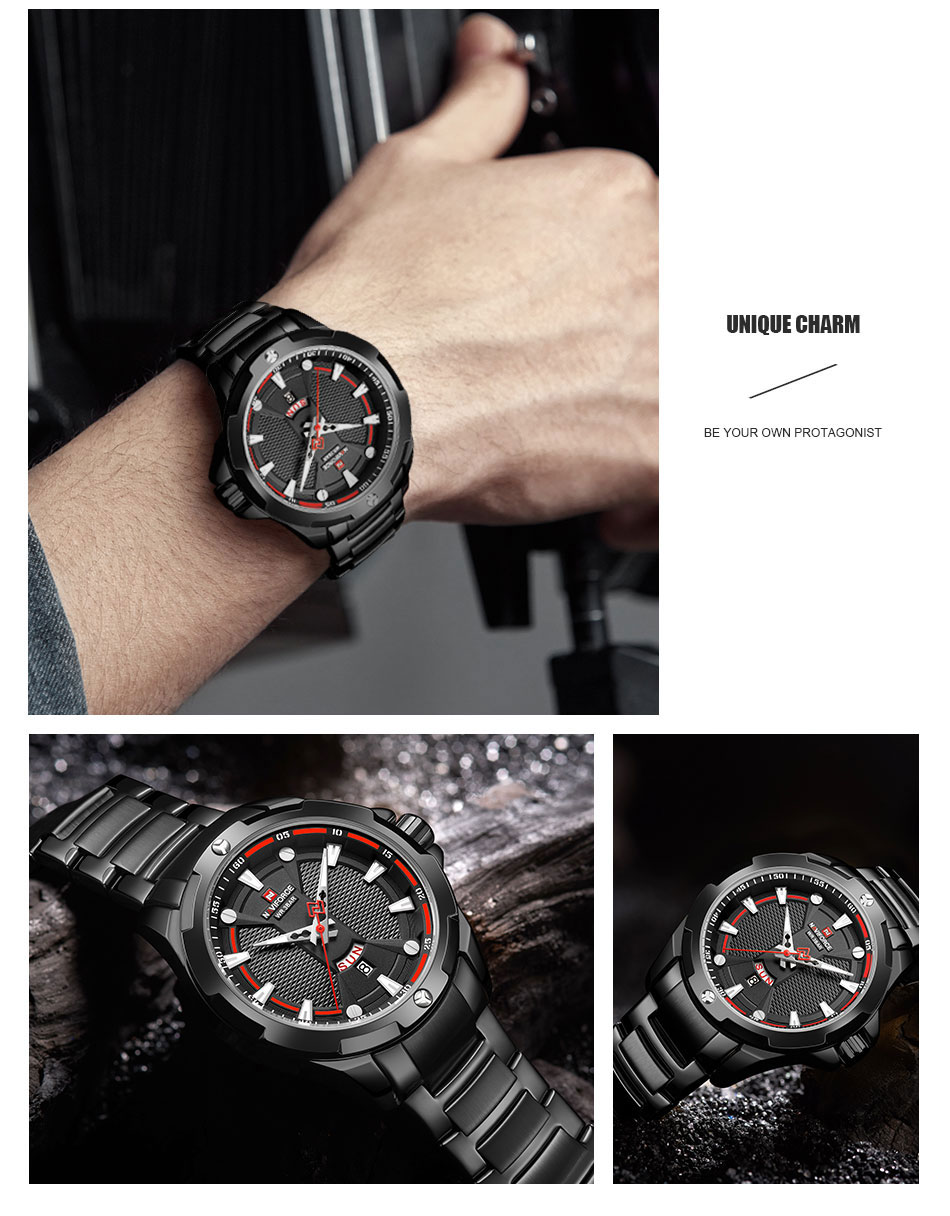 Hc64efb719d70461f980fdbe1d79a1047d Men's Watches Top Luxury Brand NAVIFORCE Analog Watch Men Stainless Steel Waterproof Quartz Wristwatch Date Relogio Masculino