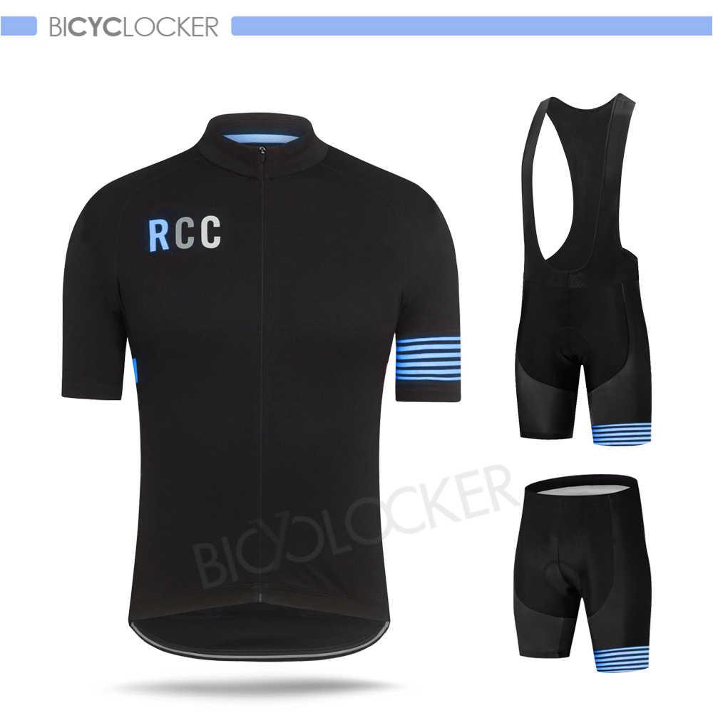 Raphaing Rcc jazda na rowerze zestawy jersey lato odzież rowerowa mężczyźni z krótkim rękawem niestandardowe Maillot Ropa Ciclismo Hombre oddychająca