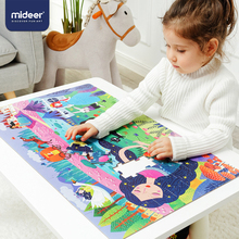 MiDeer 104pcs Puzzles for Kids Jigsaw Puzzle Toy Babys Intellectual Puzzle Combination Paper Kids Gift Puzzle Box 3 6Y