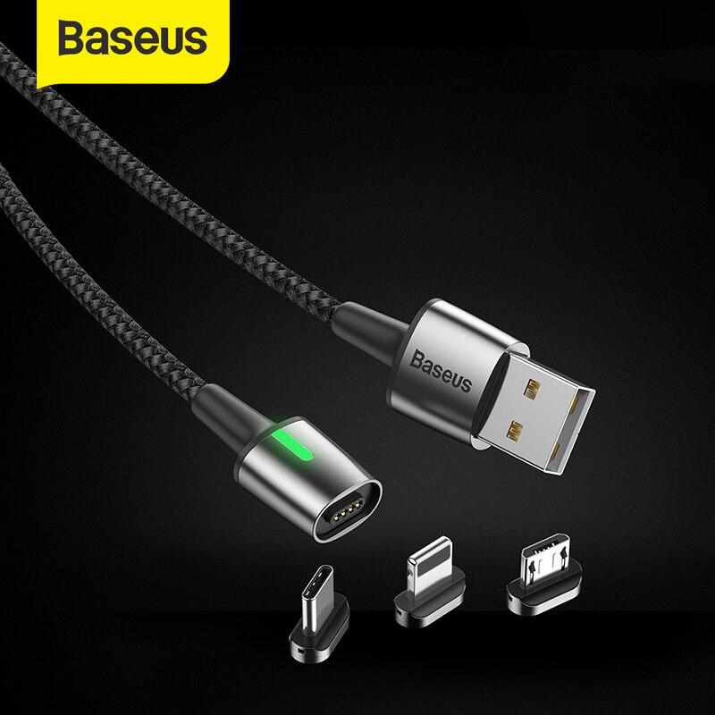 Baseus Magnetic Micro USB tipo C Cable para IP para Samsung cargador de Cable de carga rápida USB Cable USB para xiaomi redmi nota para Huawei Mini cámara 160 grados HD 1080P DVR micrófono incorporado FPV microcámara de acción con Cable para RC Drone parte Accesorios