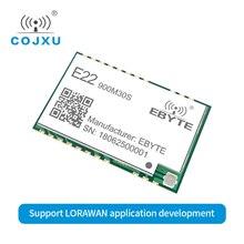 LORAWAN módulo inalámbrico SX1262 LoRa TCXO, 915MHz, E22 900M30S ebyte, orificio de sello, antena IPEX, transmisor y receptor rf de 850 930MHz