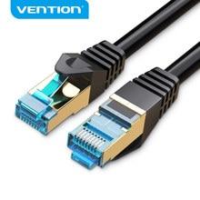 Cable Ethernet Vention Cat7, Cable RJ45 de 10 Gigabits, Cable de red Lan rj45, Cable de parche 1m2m3m5m8m10m para enrutador de PC, Cable Ethernet portátil