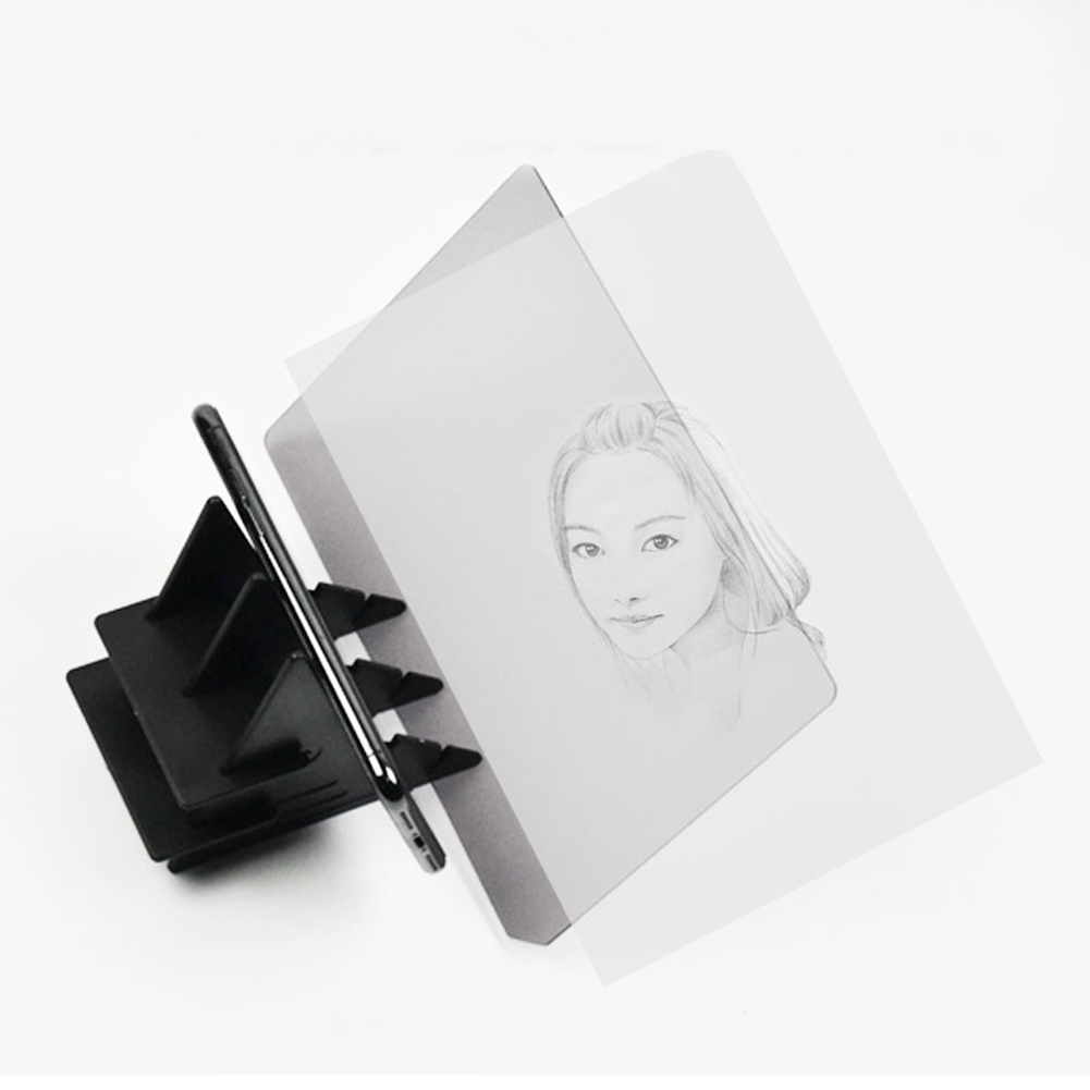 Durable Optical Imaging Drawing Board Lens Painting Mirror Plate Tracing Table Plotter For Art Student
