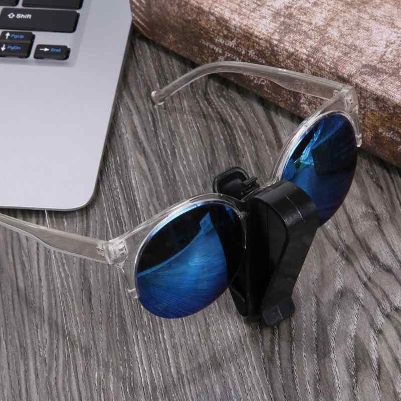 VODOOL araba güneşlik klip tutucu güneş gözlüğü gözlükler gözlük tutucu kart Sunglass klip araba oto Fastener klip aksesuarları