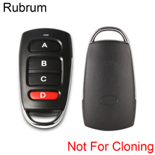 Rf-Relay-Transmitter Remote-Control-Switch Garage Universal Learn 433mhz Rubrum for Gate